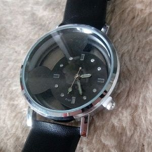 Accessories - Black Mouse Watch